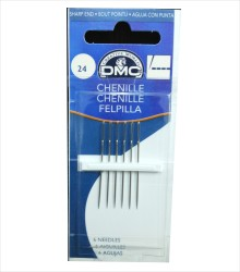 DMC - 1768/5 DMC Şönil İğne(Kurdele İğnesi) No:24
