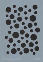 - A45006 Background (Arka Plan) Stencil 20x30 cm.