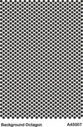 - A45007 Background (Arka Plan) Stencil 20x30 cm.
