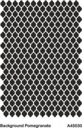 - A45030 Background (Arka Plan) Stencil 20x30 cm.