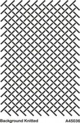 - A45036 Background (Arka Plan) Stencil 20x30 cm.