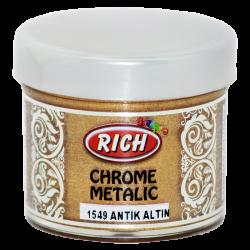 RICH - Chrome Metalik 1549 ANTİK ALTIN