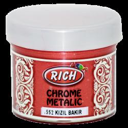 RICH - Chrome Metalik 1552 KIZIL BAKIR