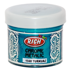RICH - Chrome Metalik 1568 TURKUAZ