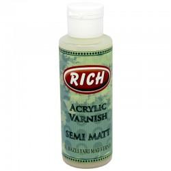 RICH - Rich Su Bazlı YARI MAT Vernik 130 cc