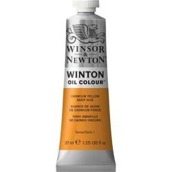 Winsor&Nevton - Winton Yağlı Boya 115 Cadmium Yellow Deep Hue (46) 37 ml