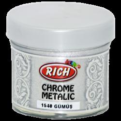 RICH - Chrome Metalik 1540 GÜMÜŞ