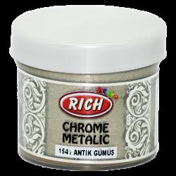 RICH - Chrome Metalik 1541 ANTİK GÜMÜŞ