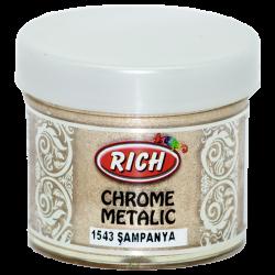RICH - Chrome Metalik 1543 ŞAMPANYA