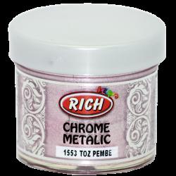 RICH - Chrome Metalik 1553 TOZ PEMBE