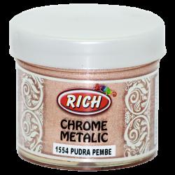 RICH - Chrome Metalik 1554 PUDRA PEMBE