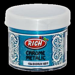RICH - Chrome Metalik 1564 BODRUM MAVİ