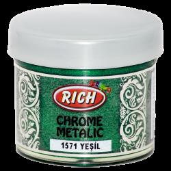 RICH - Chrome Metalik 1571 YEŞİL