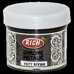 RICH - Chrome Metalik 1577 SİYAH