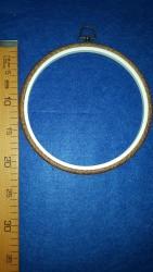 DMC - Dmc Ahşap Görünümlü Yuvarlak Nakış Çerçevesi 21 cm