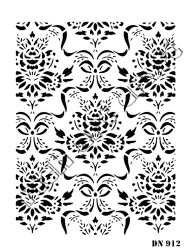RICH - Rich Dantel Stencil DN912