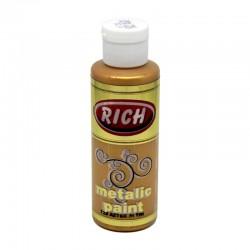 RICH - Rich Metalik Boya 728 AZTEK ALTIN 130 cc