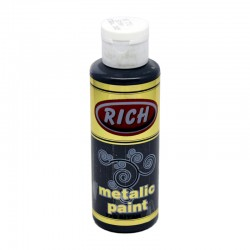 RICH - Rich Metalik Boya 770 SİYAH 120 cc