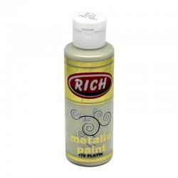 RICH - Rich Metalik Boya 776 PLATİN 120 cc