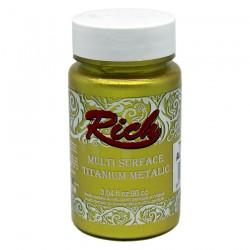 RICH - Rich Multi Surface Titanyum Metalik 2520 RICH GOLD 90 cc