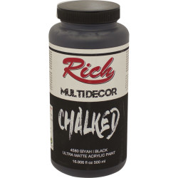 RICH - Rich MULTIDECOR CHALKED 500 ml. 4580 SİYAH