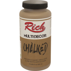 35 - Rich MULTIDECOR CHALKED 500 ml. 4584 SÜTLÜ KAHVE