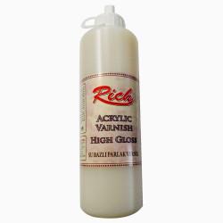 RICH - Rich Su Bazlı PARLAK Vernik Hıgh Gloss 500 cc