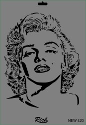 RICH - Rich XL Stencil New420 24X33