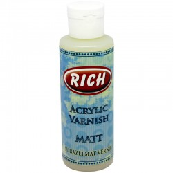 RICH - Rich Su Bazlı MAT Vernik 130 cc