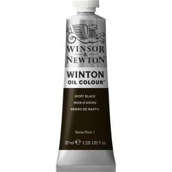 Winsor&Nevton - Winton Yağlı Boya 331 Ivory Black (24) 37 ml