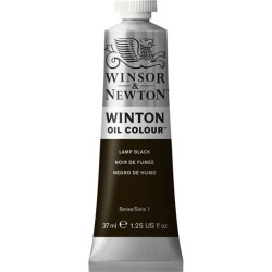 Winsor&Nevton - Winton Yağlı Boya 337 Lamp Black (25) 37 ml
