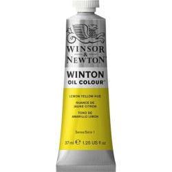 Winsor&Nevton - Winton Yağlı Boya 346 Lemon Yellow Hue (26) 37 ml.