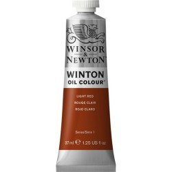 Winsor&Nevton - Winton Yağlı Boya 362 Light Red (27) 37 ml