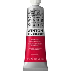 Winsor&Nevton - Winton Yağlı Boya 468 Permanent Alizarin Crimson (1) 37 ml