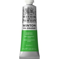 Winsor&Nevton - Winton Yağlı Boya 483 Permanent Green Light (48) 37 ml